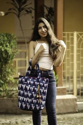 Cotton Batik Tote Bag