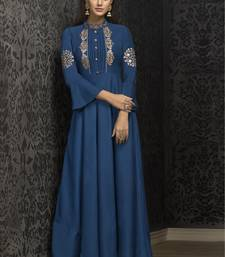 Blue Silk Islamic Tunics