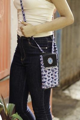 Cotton Batik Mobile Sling