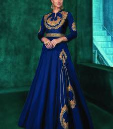 Blue Silk Islamic Tunics