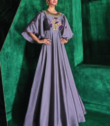Light Violet Silk Islamic Tunics