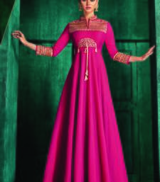 Rani Pink Silk Islamic Tunics