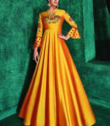 Yellow Silk Islamic Tunics
