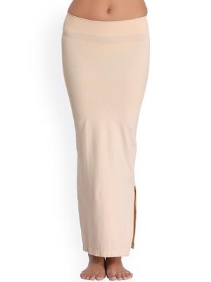 Microfiber Beige Saree Shapewear
