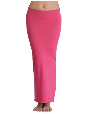 Microfiber Pink Saree Shapewear