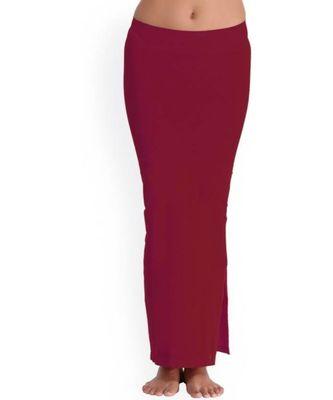 Microfiber Maroon Saree Shapewear