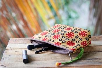 Cotton Batik Pouch