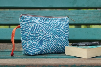 Cotton Batik Pouch