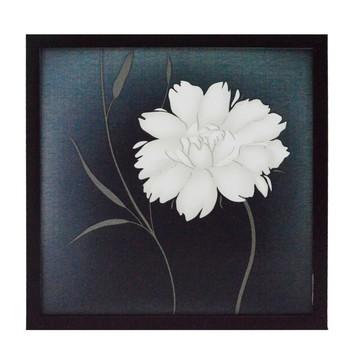 Flower Design Satin Matt Texture UV Art Painting