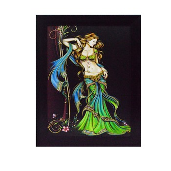 Beautiful Angel Satin Matt Texture UV Art Painting