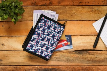 Cotton Batik Pocket Wallet