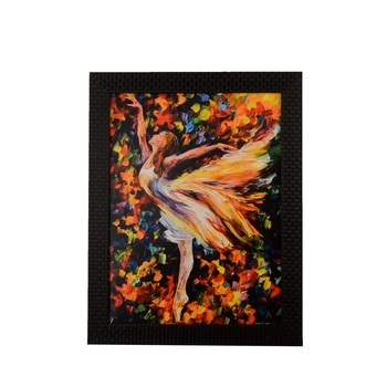 Dancing Little Angel Satin Matt Texture UV Art Painting