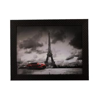 Eiffel Tower Satin Matt Texture UV Art Painting