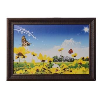 Beautiful Butterflies Satin Matt Texture UV Art Painting