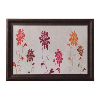 Botanical Flowers Satin Matt Texture UV Art Painting