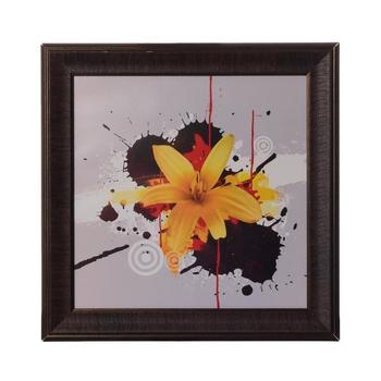 Floral Satin Matt Texture UV Art Painting