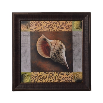 Abstract Shell Satin Matt Texture UV Art Painting