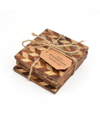 "The Amazing""Maze"" Square Handmade Coasters"