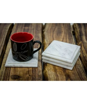 Marble Square Handmade Coasters
