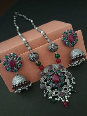 Infuzze Multicolor necklace-sets