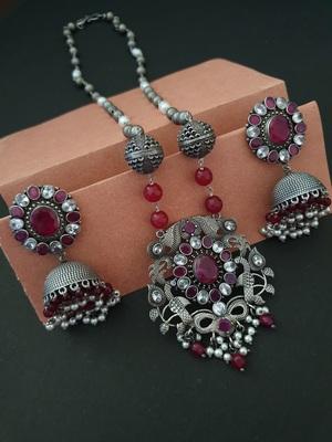 Infuzze Pink necklace-sets