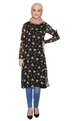 Midnight Bloom Dress By Ruqsar