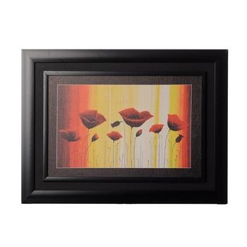 Bunch of Red Flower Matt Texture Original Oil Painting Canvas Reprint