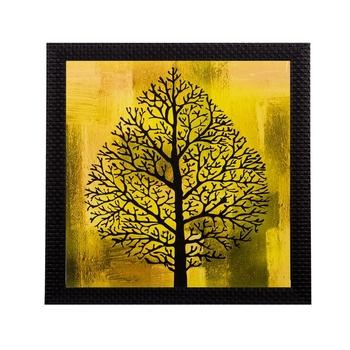 Tree Design Matt Textured UV Art Painting