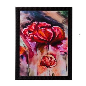 Abstract Design Matt Textured UV Art Painting