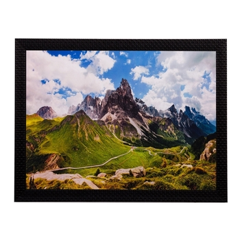 Mountains View Matt Textured UV Art Painting