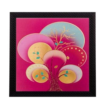 Floral Matt Textured UV Art Painting