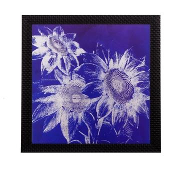 Abstract Sunflower Matt Textured UV Art Painting