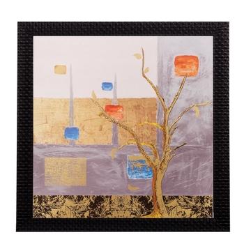 Abstract Tree Matt Textured UV Art Painting