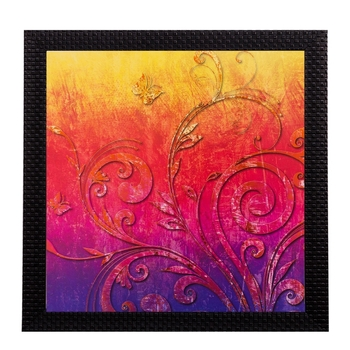 Abstract Matt Textured UV Art Painting
