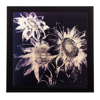 Floral Matt Textured UV Art Painting