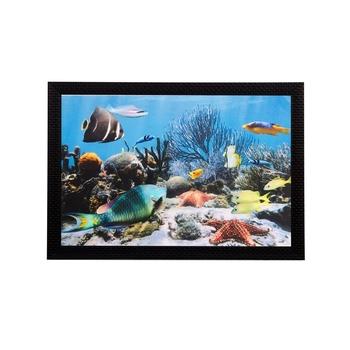 Beautiful Sea Water View Matt Textured UV Art Painting