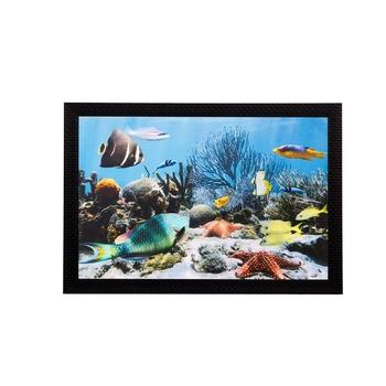 Underwater view Matt Textured UV Art Painting