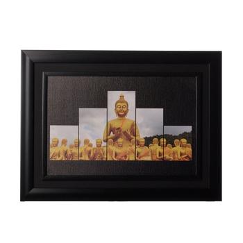 Spritual Budh Monks Matt Texture Original Oil Painting Canvas Reprint