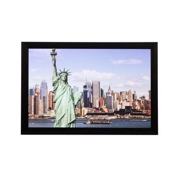 Statue of Liberty Matt Textured UV Art Painting