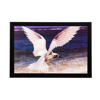 Flying Bird Matt Textured UV Art Painting