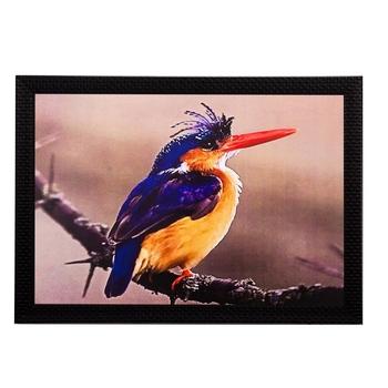 Beautiful Bird Matt Textured UV Art Painting