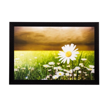 Garden View Matt Textured UV Art Painting