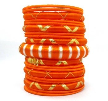 Multicolor garnet bangles-and-bracelets