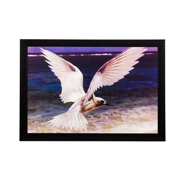 Flying Bird Matt Textured UV Art Painting