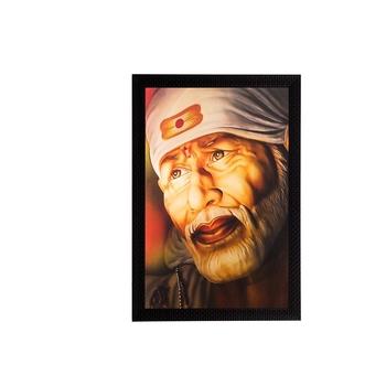 Enlightening Sai Baba Matt Textured UV Art Painting