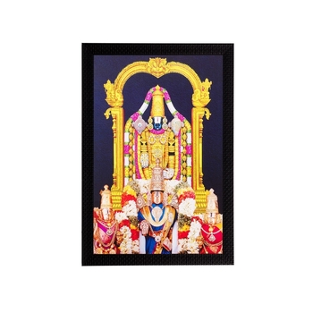 Lord Balaji Matt Textured UV Art Painting