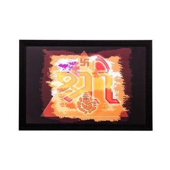 Religious Shree Matt Textured UV Art Painting