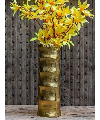 Golden Nova Flower Vase