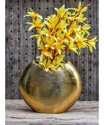 Golden Chapeaux Pour Vase