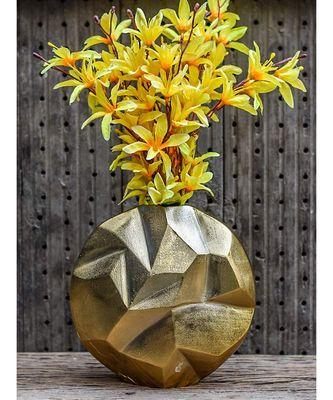 Golden Nouveau Riche Vase